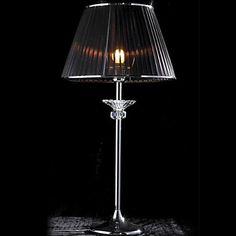 Minimalista asztali lámpa Fabric Shade Vertical festett fémrúd – EUR € 103.14