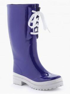 Bottes mode à lacets - Bottes de pluie jardin femme - FEMME - CHAUSSURES  Bottes 0714ba20b730