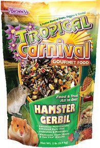 Browns Inc-Pet-Tropical Carnival Gourmet Hamster & Gerbil Food 5 Pound Gourmet Recipes, Dog Food Recipes, Snack Recipes, Hamster Food, Prebiotics And Probiotics, Food L, Gerbil, Foods To Avoid, Dog Snacks