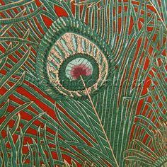 Vintage Liberty Art Nouveau Hera Fabric
