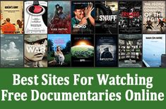 Where to watch documentaries online for free Streaming Tv Shows, Streaming Sites, Streaming Movies, Free Tv Shows Online, Watch Free Movies Online, Free Movie Sites, Movie Hacks, Free Tv Channels, Good Photo Editing Apps
