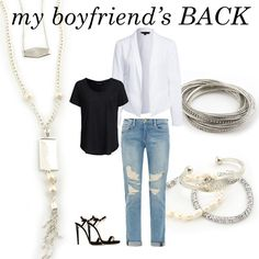 Rock your boyfriend jeans! | Accessories by Initial Outfitters