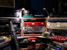 music studio racks