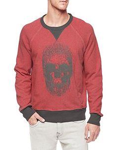 True Religion Men's Skull Raglan Sleeve French Terry Sweatshirt Ruby/Pavemnt XL True Religion http://www.amazon.com/dp/B00VO0OJRA/ref=cm_sw_r_pi_dp_d2Uowb061SKN0