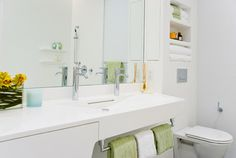 Solid surface bathroom usage #corian #coriandesign #solidsurface