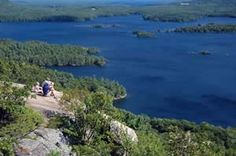The view from West Rattlesnake's ledges (photo by Ben Kimball for the NH Natural Heritage Bureau)