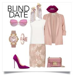 """""""Cascade earrings"""" by el-bir-doc on Polyvore featuring мода, River Island, Dorothy Perkins, Finders Keepers, Tory Burch, Jimmy Choo, Chopard и Gucci"""