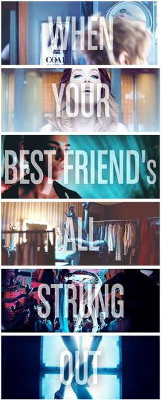 When your best friends all strung out | Foster The People 2014