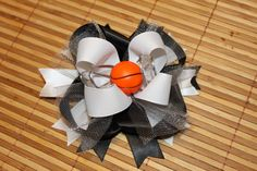 San Antonio Spurs Hair Bow - $5