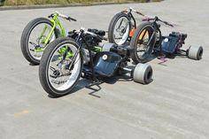 Drift Trike Gang http://www.drifttrikegang.com/ Troublesome Trikes http://www.troublesometrikes.com/