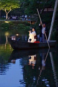 湖上の夢笛 兼六園 霞ヶ池