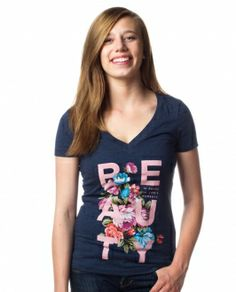 Sevenly, beautiful designs for beautiful causes. Beauty V Neck