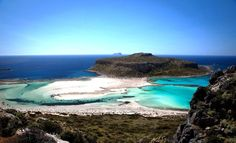 The lagoon of Balos - Day tour from Chania, Crete Greece Tours, Greek Island Hopping, Greece Vacation, Blue Lagoon, Crete, Day Tours, Greek Islands, Explore, Water