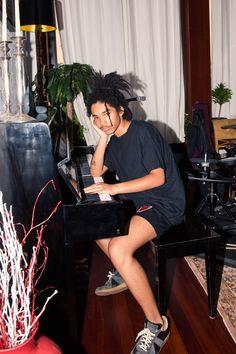 Inside Model and Stylist Luka Sabbat's Closet: Maison Margiela Shoes | coveteur.com