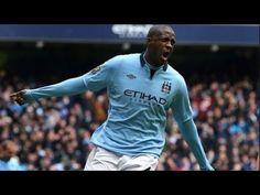 ヤヤ・トゥーレ プレーまとめ マンチェスターシティ|Yaya Toure Goals & Slills & Assists Manchester City / Cote d'Ivoire