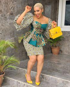 African Fashion Ankara, Latest African Fashion Dresses, African Print Fashion, African Prints, Africa Fashion, African Style, African Fabric, African Lace Dresses, African Dresses For Women
