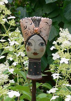 Pflanzen- & Gartenstecker - »Pamina« Miniatur 9 - ein Designerstück von Brigitte_Peglow bei DaWanda
