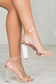 Maria Transparent Heel