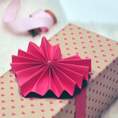These three dimensional gift toppers are such a darling adornment for your Valentine!