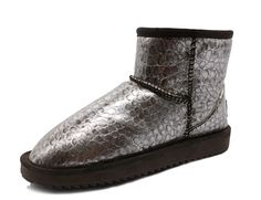 K3K Winter Women's Fashion PU leather Breathable Plus Velvet Lined Snow Boots * Be sure to check out this awesome product.