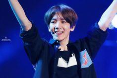 Baekhyun - 150524 2015 Lotte Duty Free Family Festival K-pop Concert  Credit: B.Bright. (2015 롯데면세점 패밀리페스티벌 케이팝 콘서트)