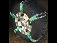 How to use TruckClaws II Emergency Tire Traction Aid - YouTube
