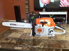 MS261 Logging Equipment, Stihl Chainsaw, Kawasaki Ninja, Tool Storage, Motor, Outdoor Power Equipment, Tools, Diy, Build Your Own