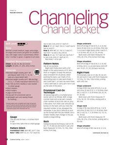 Explicaciones para Chanel Jacket.