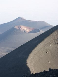 Mount Etna, Sicily, Italy. We used to go sledding down this mountain! :)