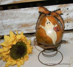 primitive halloween gourds - Google Search