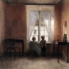 Vilhelm Hammershøi Vilhelm Hammershøi (May 15, 1864 – February 13, 1916), was a Danish painter. He is known for his poetic, low-...