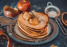 Receta para preparar Hot cakes de harina de amaranto en colaboración con good express y placeres orgánicos, libres de gluten