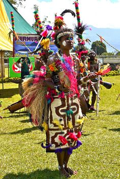 Festival of Independence.  Papua New Guinea פפואה גינאה החדשה www.papua-by-raz.co.il