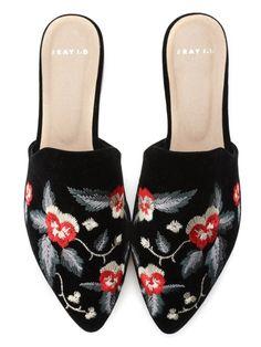バリエーションローヒールミュール(サンダル) FRAY I.D(フレイアイディー) ファッション通販 ウサギオンライン公式通販サイト