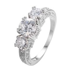 Maat 5/6/7/8/9/10/11/12 vrouwen saffier vinger ring 10kt wit goud gevuld ringen gratis verzending a0311 in  Bekijk meer klik dan op de volgende picrure:                          & van ringen op AliExpress.com   Alibaba Groep