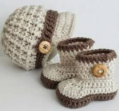 botines para varon en crochet - Buscar con Google