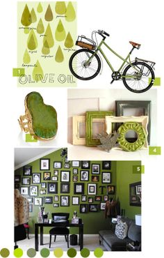 Love the photo frames, and the color!!