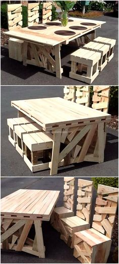 Read about Pallet Furniture Faux Wood Wall, Grey Wood Tile, Pine Wood Furniture, Pallet Patio Furniture, Bar Countertops, Pallet Designs, Pallet Creations, Diy Pallet Projects, Wooden Pallets
