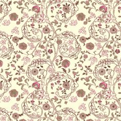 Embroidery Cream fabric by amyvail on Spoonflower - custom fabric