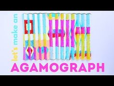 Math Art Idea: How to Make an Agamograph - YouTube