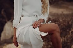 White dress: Mango, Heels: Yves Saint-Laurent …text under construction. Art Director, Yves Saint Laurent, White Dress, Stylists, Photography, Dresses, Style, Vestidos, Swag
