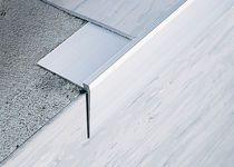 with resilient flooring....Aluminium stair nosing