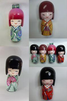 A bükkfából esztergált vagy faragott Kokesi  a gyerekjátékból lett felnőtt-kedvenccé, személyes igényekre szabva :) #kokeshidoll #kokeshi #japan #japanese #kokeshibaba #adorable #baba #design #mywork #giftthattouchestheheart #ajandek #imadnivalo #christmasgift #christmas #homedecor #cute #kokeshidolls #artworks #japanstyle #diy #japaneseart #doll #kokesi #kokesidoll Guinea Fowl, Baba, Egg Shells, Hens, Parrot, Folk Art, Fairy Tales, Idol, Hand Painted