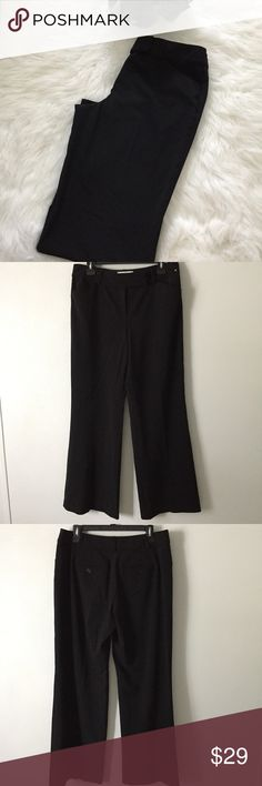 White House Black Market Black Slacks White House Black Market Legacy Black Slacks dress them up or down for work or an evening out! Polyester and spandex. Waist flat: 16 inches Inseam:32 inches No flaws. White House Black Market Pants