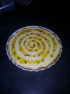 Passion fruit & UltraMel fridge cheese cake