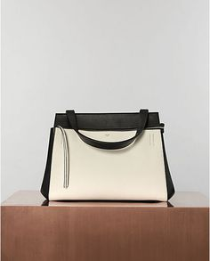 Edge Tote Bag in Grained Calfskin / by Celine
