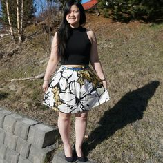 trusty skirt (chardon skirt from Deer and Doe) Deer, Floral, Skirts, Fashion, Moda, Fashion Styles, Flowers, Skirt, Fashion Illustrations