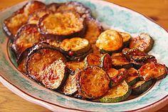 Portugiesische Auberginen und Zucchini (Rezept mit Bild) | Chefkoch.de (Vegan Recipes Zucchini)