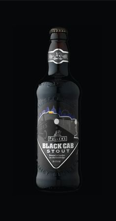 Packaging of the World: Creative Package Design Archive and Gallery: Fullers Black Cab Stout