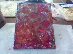Alcohol Ink Painting, Tie Dye Skirt, My Arts, Paper